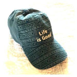 Life Is Good Ladies Cap
